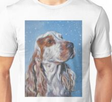 English Cocker Spaniel Fine Art Painting Unisex T-Shirt