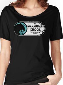The Wakandan School For Alternative Studies Women's Relaxed Fit T-Shirt