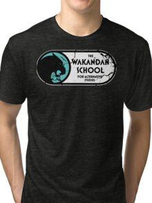 The Wakandan School For Alternative Studies Tri-blend T-Shirt