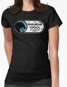 The Wakandan School For Alternative Studies Womens Fitted T-Shirt