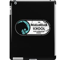 The Wakandan School For Alternative Studies iPad Case/Skin