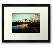 Milwaukee in the evening © Framed Print