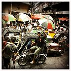 Market scene  by Cara Gallardo Weil