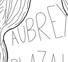 Aubrey Plaza Sticker