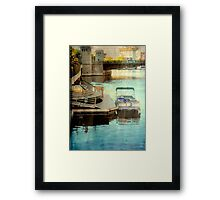 Milwaukee River View © Framed Print