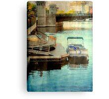 Milwaukee River View © Canvas Print