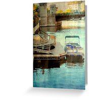 Milwaukee River View © Greeting Card