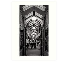 Burlington Arcade, London Art Print