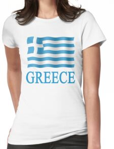 Hellas - Greek - Greece Womens Fitted T-Shirt