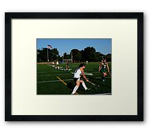 100511 126 0 field hockey Framed Print