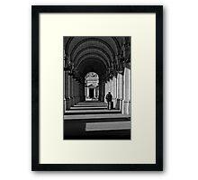 On Time Framed Print