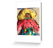 Fantasy Cookies Cathy the Blond Greeting Card