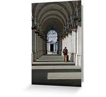 Still on Time Greeting Card