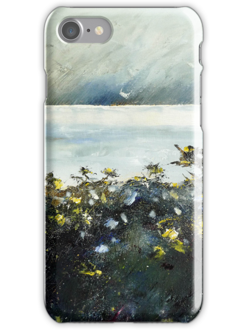 over the hedge iphone cover by Sue Nichol