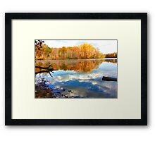 French Creek Colors Framed Print