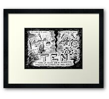 The Long War on terror in Afghanistan Framed Print