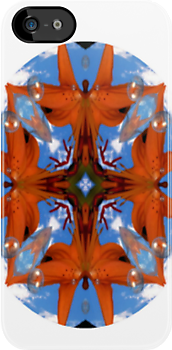 Angel Lily iPhone Case by judygal