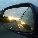 A Motorway's Sunrise by Vicki Spindler (VHS Photography)