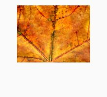 Detailed Fall Maple Leaf Texture 4 Unisex T-Shirt