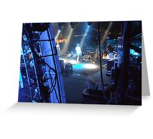 Powderfinger - Big Day Out - 2010 Greeting Card