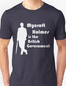 Mycroft Holmes, British Government (White) T-Shirt