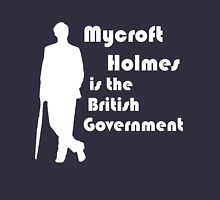 Mycroft Holmes, British Government (White) Unisex T-Shirt