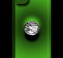 Mercury - iPhone Case - Green by BlueShift