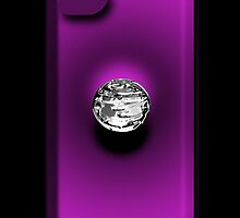 Mercury - iPhone Case - Purple by BlueShift