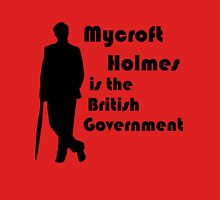 Mycroft Holmes, British Government (Black) Unisex T-Shirt