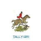 Tally Ho!!! by Catherine Hamilton-Veal  ©