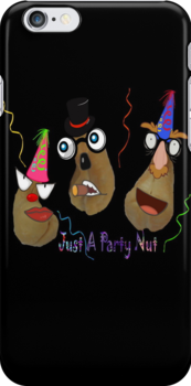 Party Nuts iPhone Case by judygal