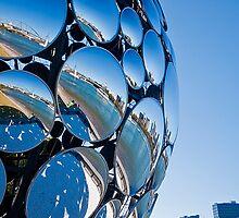 Brisbane Festival, Golden Casket Light Sphere iPhone Case by Jaxybelle
