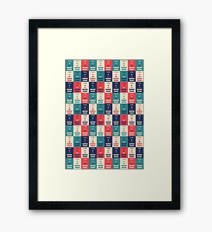 Graphic Design Framed Print