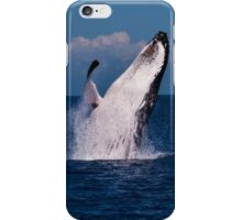 Humpback Whale Breaching iPhonecase iPhone Case/Skin