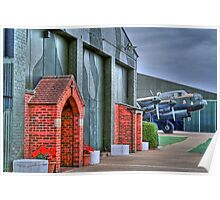 The Chapel RAF East Kirkby - HDR Poster