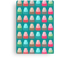 More Patterned Cakes Canvas Print
