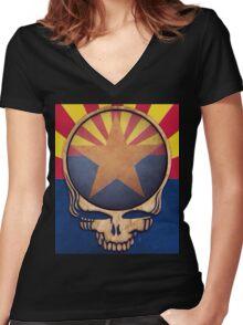 Arizona Women's Fitted V-Neck T-Shirt