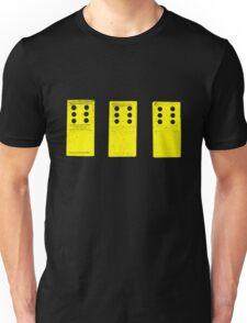 666 Dominos - Yellow Unisex T-Shirt