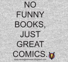 No Funny Books... One Piece - Short Sleeve