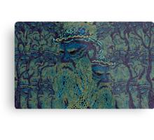Tolstoy psychedelic wallpaper Metal Print