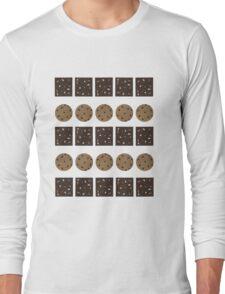 Cookie Monster (Cream) Long Sleeve T-Shirt