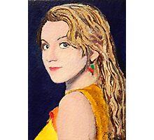 Luna Lovegood Miniature ACEO Card Photographic Print