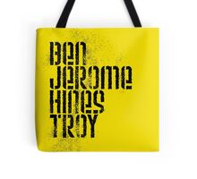 Ben Jerome Hines Troy / Gold Tote Bag
