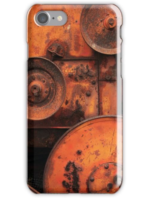 Pulleys (iPhone Case) by David Kocherhans