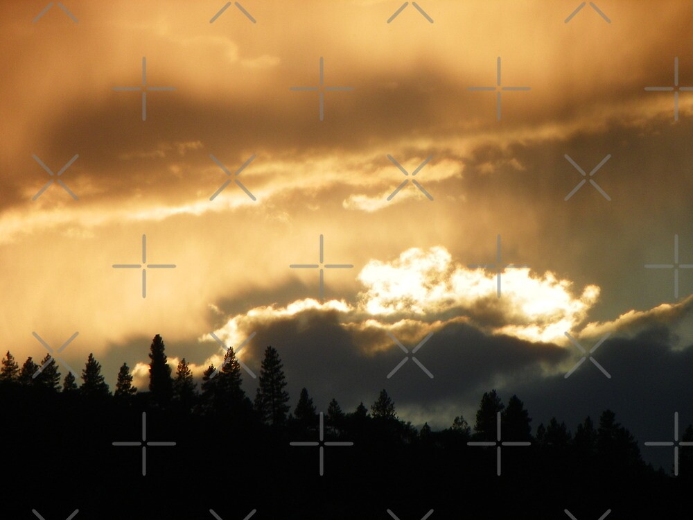Clouds With Silver Lining by Betty  Town Duncan