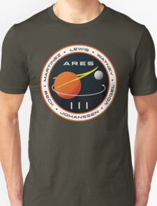 ARES 3 Mission Patch (Clean) - The Martian T-Shirt