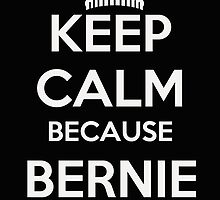 Keep Calm Because Bernie is Coming by ESDesign