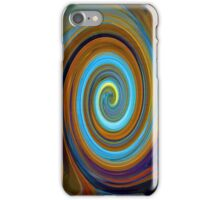 Old carriage light swirly iPhone Case/Skin
