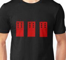 666 Dominos - Red Unisex T-Shirt