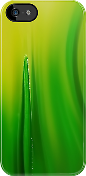 grass green - iphone case by Ingz